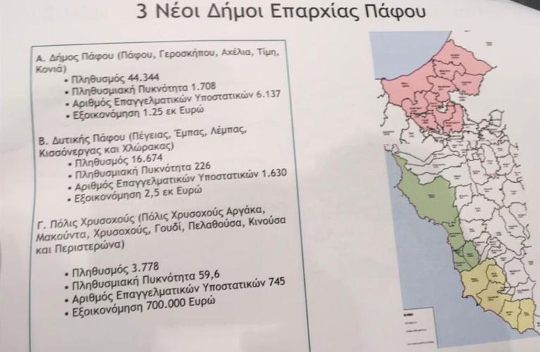 O κύβος ερρίφθη, τρεις Δήμοι στην Πάφο