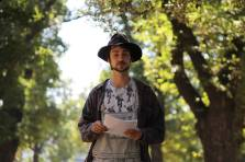 LLuca discusses the Wildwood Tradition at our first Pagan Pride Day, in 2017. Photo: Mark Hayes Photography