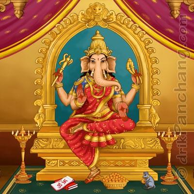 Vinayaki female form of Ganapati