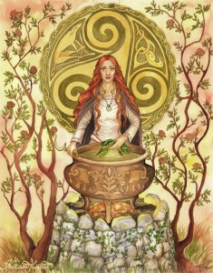 imbolc-goddess