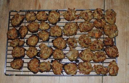 Sausagemeat Balls for Christmas Dinner