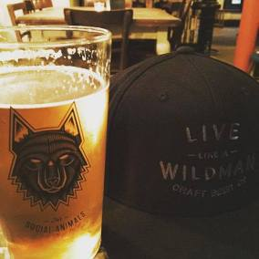 Wildman Craft beer Hat
