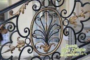 Pagar Balkon Besi Tempa (2)