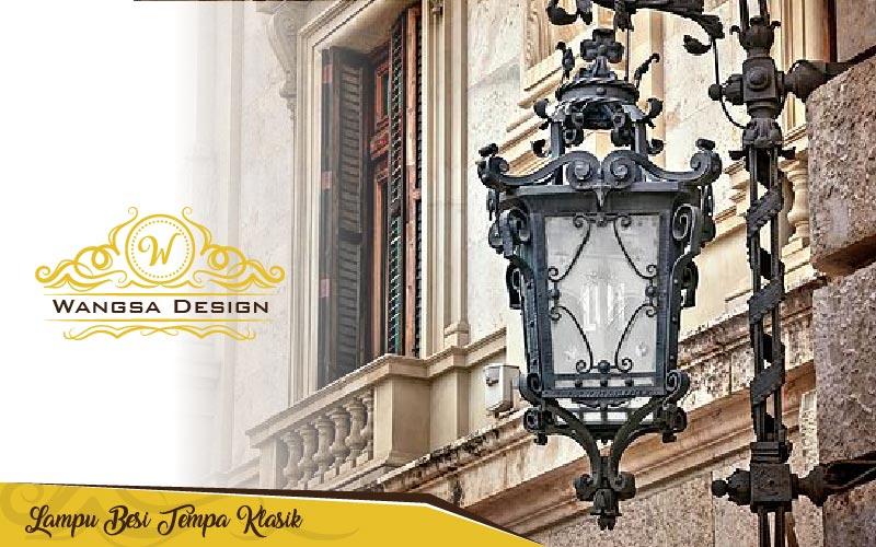 Lampu Besi Tempa Klasik