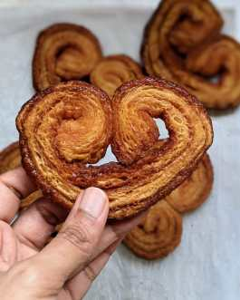 Palmiers (Pack of 4)