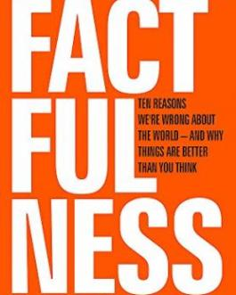 Factfulness: Ten Reasons We're Wrong About the World and Why Things are Better Than You Think – Hans Rosling