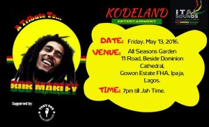 kodeland reggae tribute to bob marley