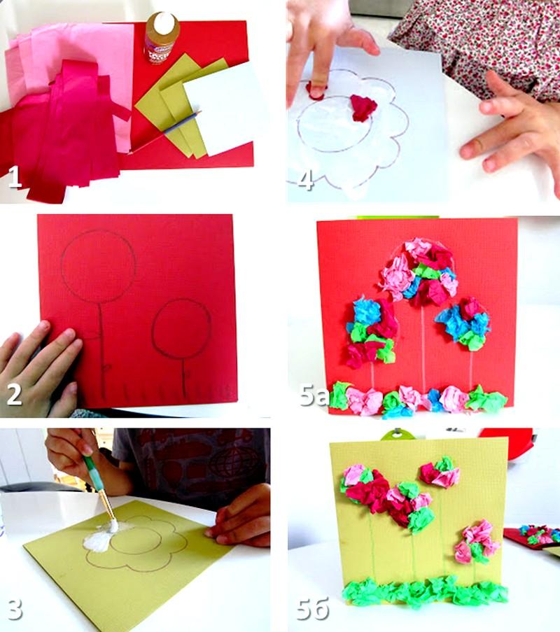Лица рисунки, как сделать открытку из бумаги для мамы видео не