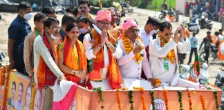 Jan Ashirwad rally in Rishikesh: