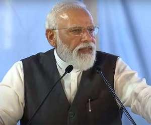 PM modi in rishikesh :