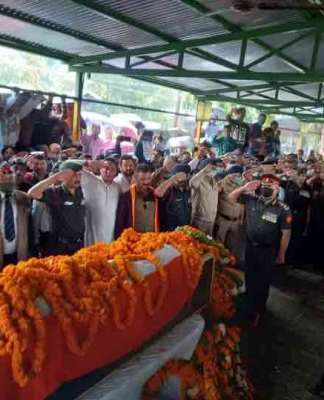 Martyr Ajay Rautela :