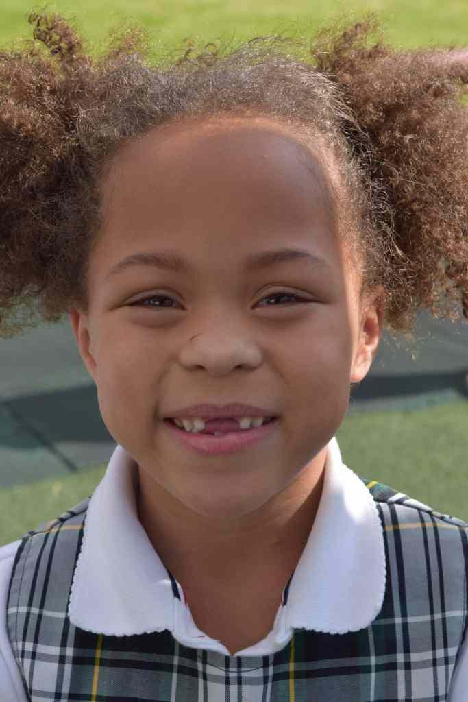 Kindergarten Student at Page Academy