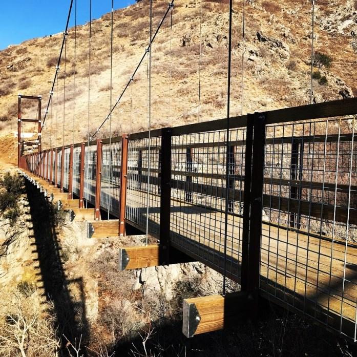Bear Canyon Suspension Bridge