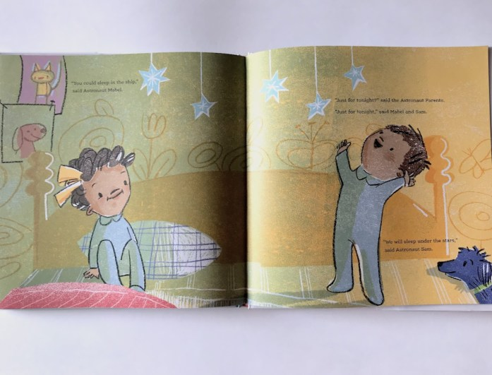 Mabel and Sam at home book review2