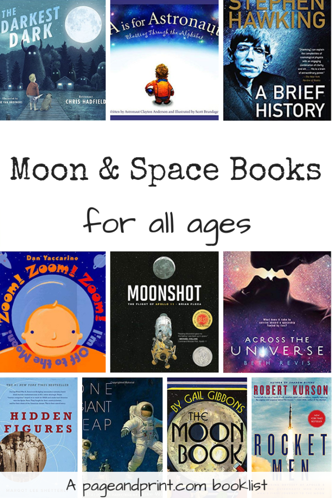Moon and Space Booklist