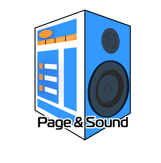 Page and Sound Logo