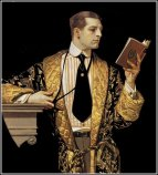 BAM RM leyendecker-man-reading-book