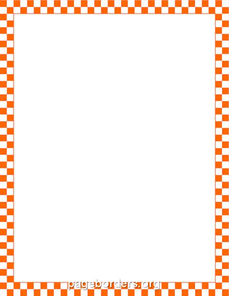 Green Checkerboard Border