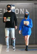 Ashley Benson and G-Eazy Spotted At Erewhon Market In Los Angeles