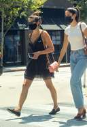 Sara Sampaio Spotted At Urth Caffe Melrose In West Hollywood