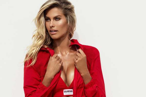 Natalie Roser Hot Photo-shoot For Guess Activewear