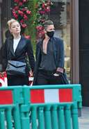 Amber Heard And Bianca Butti Spotted Roaming In Central London