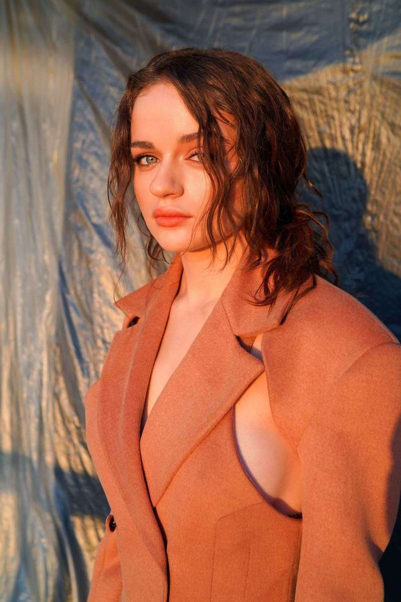 Joey King a virtual photoshoot for The Kissing Booth 2 in Los Angeles
