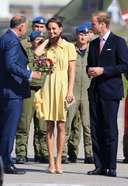 Price Kate Middleton Latest Photos at Calgary Airport in Yellowknife