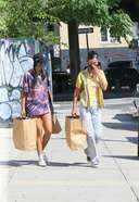 Bella Hadid Latest Stills while shopping with a friend in Brooklyn