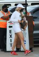 Sofia Richie Was spotted picking up take out food from Nobu in Malibu