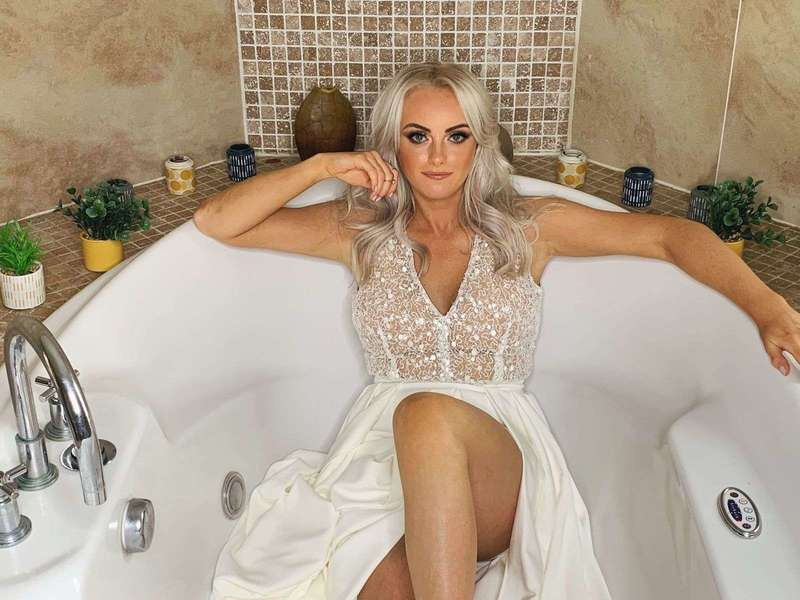 Katie McGlynn in a sexy photoshoot