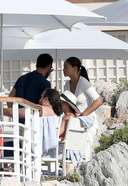 Shanina Shaik Latest images and photos at the Hotel Du Cap Eden Roc in France