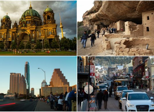 Various Time-Lapse: Urban/City/Travel