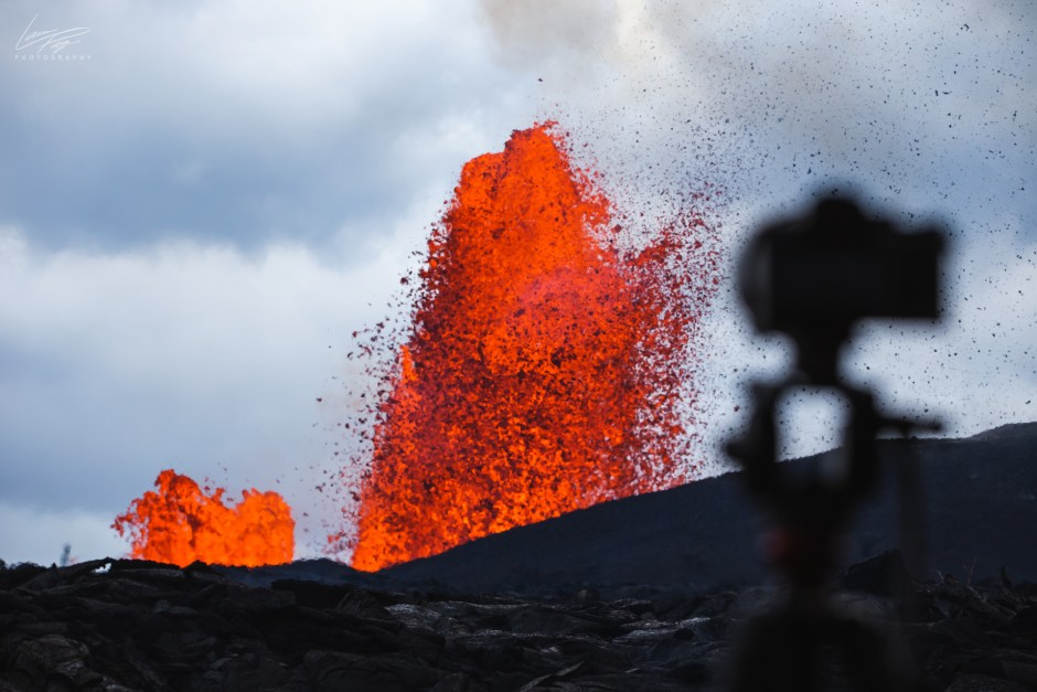 Capturing Fissure 8, May 31st, 2018