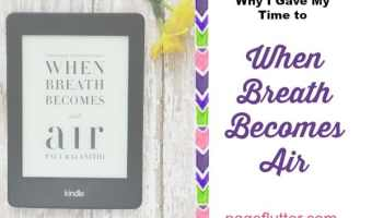 "Why I Gave My Time to ""When Breath Becomes Air"""