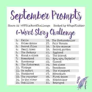 September Challenge Prompts