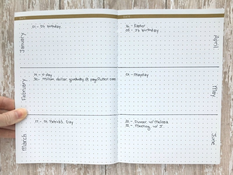 Image result for very simple bullet journal