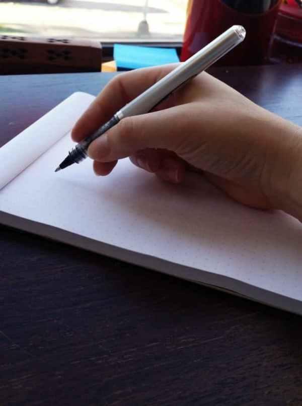 Handwriting tips from Little Coffee Fox