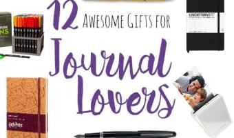 12 Awesome Gifts for Journal Lovers