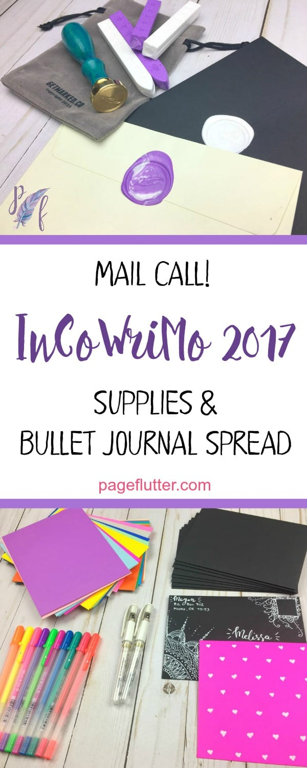 Join InCoWriMo 2017 & more snail mail in February. Handwritten happy mail.