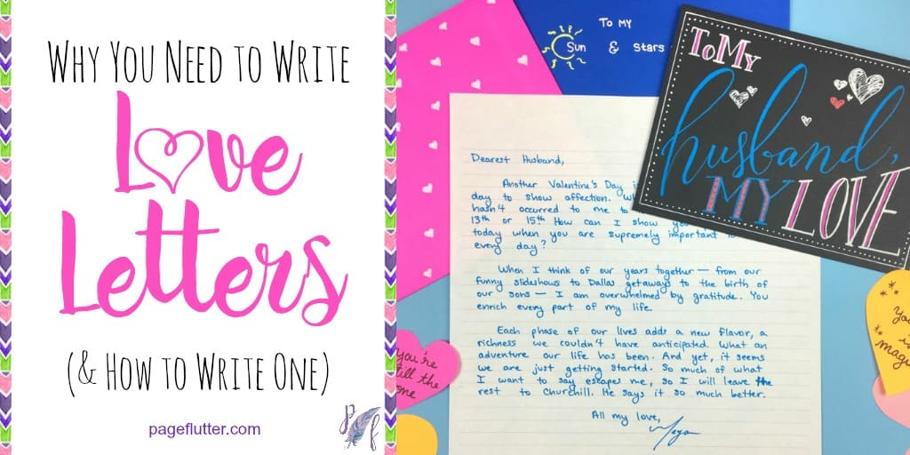 why you need to write love letters how to write one page flutter