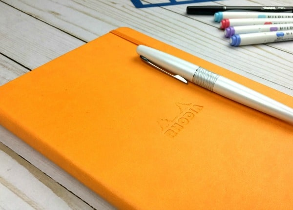 Rhodia Webnotebook for Bullet Journaling: The Definitive Review