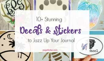 10+ Stunning Decals to Jazz Up Your Journal Cover