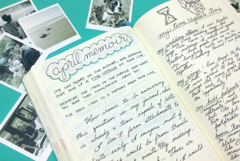 memoir writing prompts This four-session workshop will help you write a memoir by breaking it down into  a  participants will respond to writing prompts, workshop one essay draft, and.