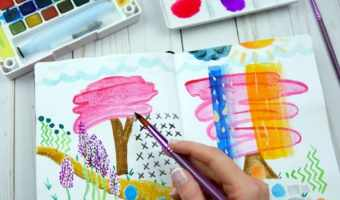Stretch Your Creativity With Art Journaling