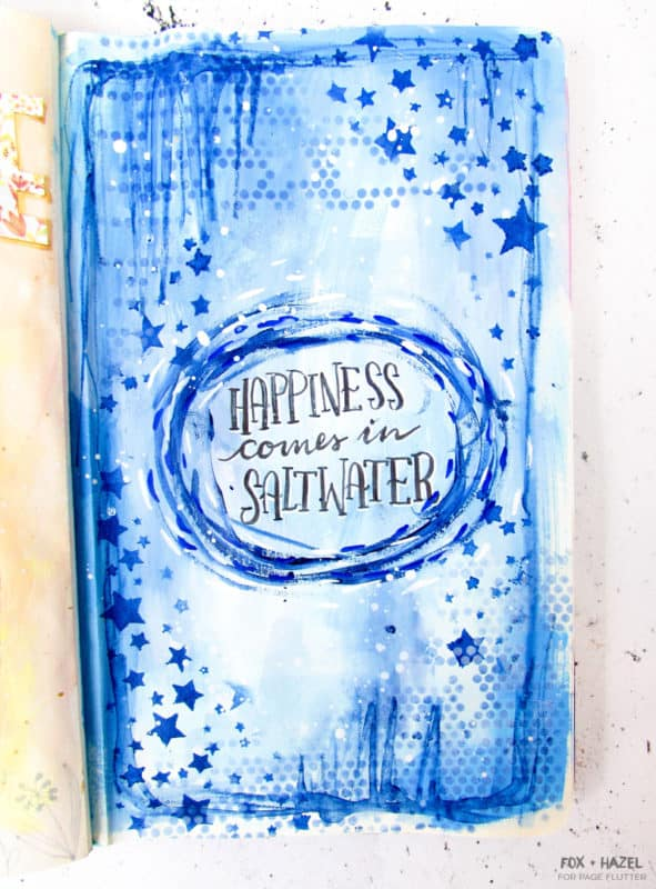 Summer Art Journaling Prompts - Fox + Hazel for Page Flutter