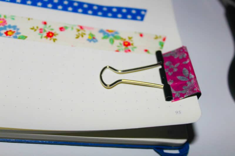 Washi tape projects to jazz up your bullet journal, get organized, and decorate your paper crafts!