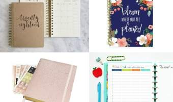 10+ Stylish Academic Planners To Make You Back-to-School Ready