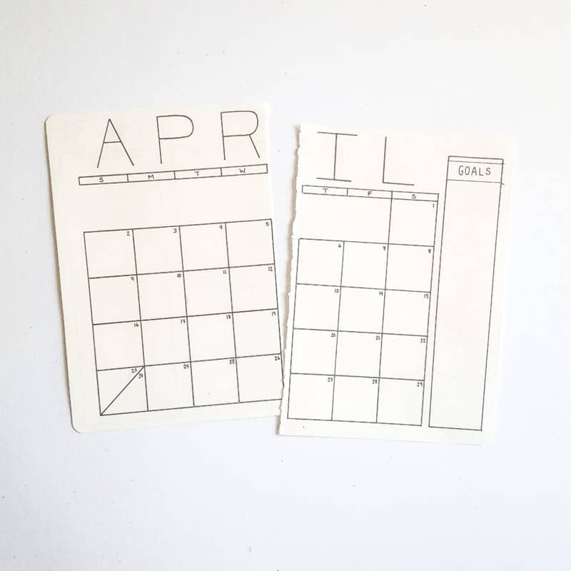 Bullet Journal to Increase Productivity. Focus on minimal bullet journal layouts and planning pages.