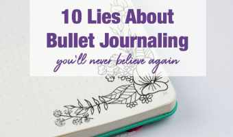 10 Bullet Journaling Mistruths You'll Never Believe Again
